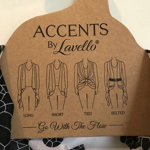 Accents by Lavello Jackets & Coats - Accents By Lavello chiffon vest